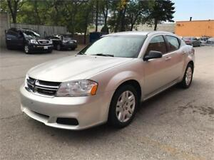 2012 DODGE AVENGER SXT ONLY 58,000KMS *GAS SAVER* CLEAN!!!
