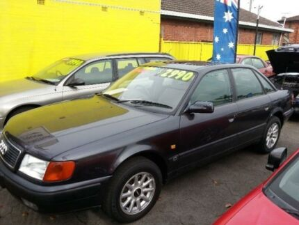 1993 Audi 100 2.8 V6 Dark Grey 4 Speed Automatic Sedan Islington Newcastle Area Preview