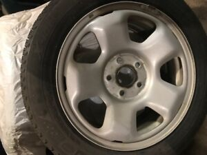 Winter tires and rims  - Michelin X-Ice i13 225/55/17