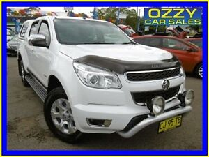 2013 Holden Colorado RG LTZ (4x4) White 6 Speed Automatic Crew Cab P/Up Penrith Penrith Area Preview