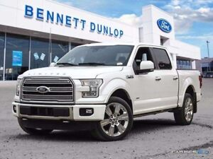 2016 Ford F-150 Limited-Moon Roof-Nav-Active Park Assist-Adaptiv