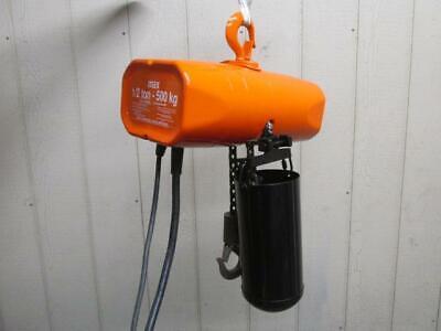 Cm Valustar Model Wf Electric Chain Hoist 12 Ton 1000 Lbs 1 Ph 115v 10 Lift