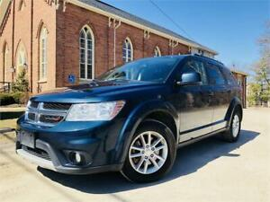 2015 Dodge Journey SXT - 7 Passenger!  Certified ! $12,777