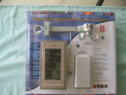 LA CROSSE WIRELESS RADIO CONTROLLED WEATHER STATION w/ WIND SENSOR WS-9046U-CP