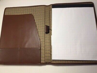 Genuine Top Grain Leather Cutter Buck  Writing Pad  Lot Of 2 Pads
