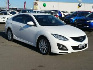 2011 Mazda 6 GH1052 MY10 Classic White 5 Speed Sports Automatic Hatchback Albion Park Rail Shellharbour Area Preview
