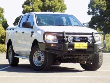 2014 Ford Ranger PX XL Double Cab White 6 Speed Manual Utility Strathalbyn Alexandrina Area Preview