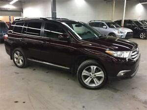 TOYOTA HIGHLANDER 2013 AWD / CAMERA / CUIR / 7 PASSAGERS!!