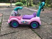 Toddler Walker/Sit on Fisher Price Toy