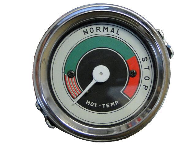 Fernthermometer mechanisch für Porsche Diesel Traktoren Ø 60 mm mit Beleuchtung  Foto 1