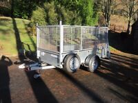 IFOR WILLIAMS GD 84 SINGLE AXLE TRAILER - EXCEPTIONAL CONDITION