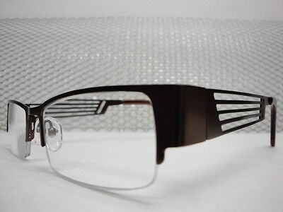 NEW TRENDY & UNIQUE MENS LADIES BROWN READING EYE GLASSES FRAMES READERS (Unique Mens Eyeglass Frames)