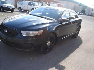 2013 Ford TAURUS AWD,EX-POLICE,BACK UP CAMERA,BLK/BLK