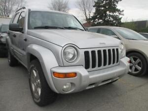 2003 Jeep Liberty 4X4 V6 Limited TOIT OUVRANT AUTO A/C CRUISE
