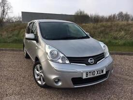 Nissan Note 1.5dCi ( 86ps ) N-TEC 2010 *LOW MILES, SAT NAV, CLEAN CAR*