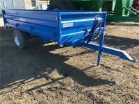 Warwick 3.5 tonne dump trailer for farm tractors Brandon Brandon Area Preview