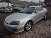 HYUNDAI COUPE 1.6 16v S~55/2005~MANUAL~STUNNING SILVER~VERY CLEAN~JUST 46k !!!!