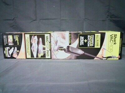 Shark Vacmop Cordless Hard Floor Vacuum Mop Disposable Pad Grey Factory Sealed