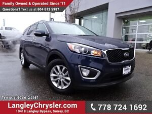 2017 Kia Sorento 2.4L LX ACCIDENT FREE w/ AWD & REAR PARK SEN...