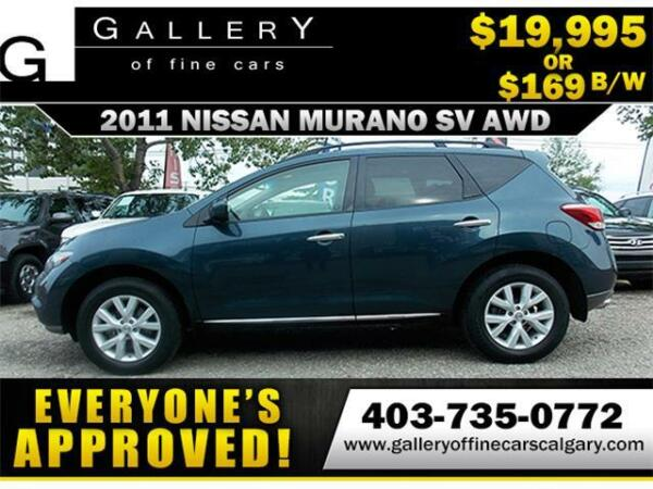 2011 Nissan Murano SV AWD $169 bi-weekly APPLY NOW DRIVE NOW
