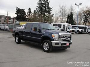 2014 FORD F-250 XLT CREW CAB SHORT BOX 4X4