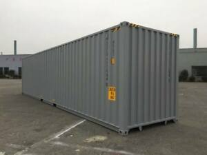 40' Used High Cube Shipping Container