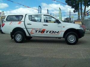 2009 Mitsubishi Triton ML MY09 GLX 4 Speed Automatic Evanston South Gawler Area Preview