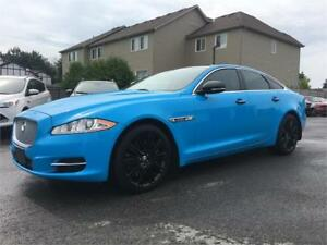 2012 Jaguar XJ V8 Supercharged | Blue Wrap |