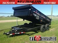 "2019 PJ 14' x 83"" Tandem Axle Dump Trailer, 14K GVWR Winnipeg Manitoba Preview"