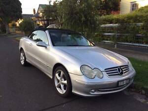 2004 Mercedes-Benz CLK320 Convertible Brunswick Moreland Area Preview