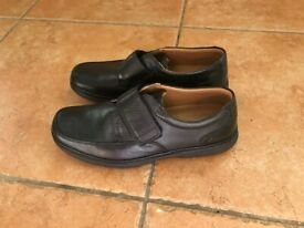 Clarks Mens Flexlight Black Shoes