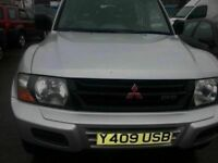 MITSUBISHI SHOGUN 3.2DID AUTOMATIC DIESEL 7 SEATER