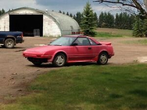 1986 Toyota MR2 Coupe - Perfect first car!