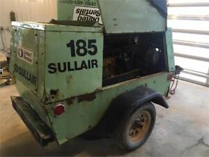 Sullair 185 Industrial Diesel Air Compressor