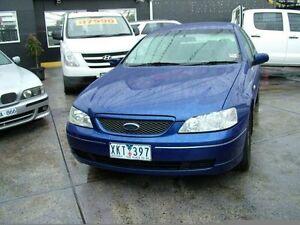 2003 Ford Falcon BA Futura 4 Speed Auto Seq Sportshift Sedan Coburg North Moreland Area Preview