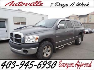 2008 Dodge Ram 1500 4X4  ST CANOPY  Navigation Everyone Approved