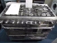 NEW GRADED ALL GAS 5 BURNER HOB HOTPOINT RANGE COOKER REF: 11082