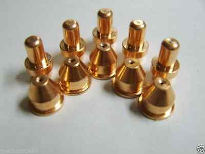 10pc 40amp Plasma Cutter Torch Pipe Tip Set Eastwood Versa Cut Works With Roller