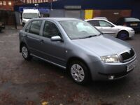 SKODA FABIA 1.2 - 5 DOOR - VERY ECONOMICAL AND RELIABLE