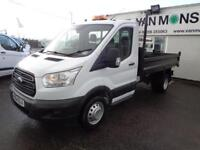 Ford Transit 2.2 Tdci 125Ps TIPPER DIESEL MANUAL WHITE (2014)