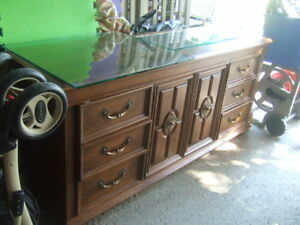 vintage wooden drawer, 3481