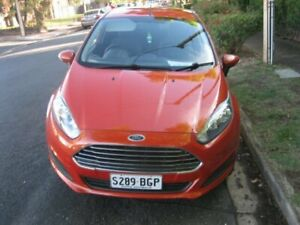 2014 Ford Fiesta WZ Ambiente Mars Red 6 Speed Automatic Hatchback Prospect Prospect Area Preview