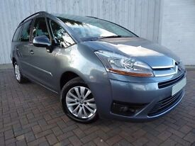Citroen C4 Grand Picasso 2.0i VTR Plus 16v, One Owner From New, Automatic 7 Seater, Service History