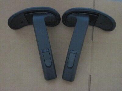 Herman Miller Mirra Chair Adjustable Arm Assemblies Pair Genuine Oem With Pads
