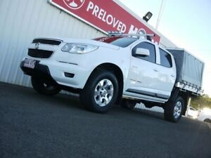 2014 Holden Colorado RG MY15 LS Crew Cab 6 Speed Sports Automatic Cab Chassis Avoca Bundaberg City Preview