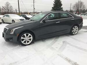 2013 Cadillac ATS Luxury|NAV|CAM|SUNROOF|LEATHER|NO ACCIDENT|