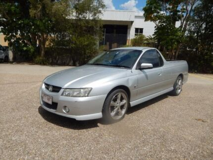 2005 Holden Ute VZ Storm S Silver 4 Speed Automatic Utility