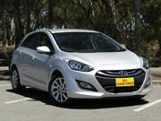 2013 Hyundai i30 GD2 Active Silver 6 Speed Sports Automatic Hatchback Morphett Vale Morphett Vale Area Preview