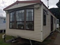 Immaculate static caravan