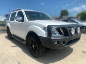 2015 Nissan Pathfinder R52 MY15 ST-L X-tronic 4WD N-TREK White 1 Speed Constant Variable Wagon Canning Vale Canning Area Preview